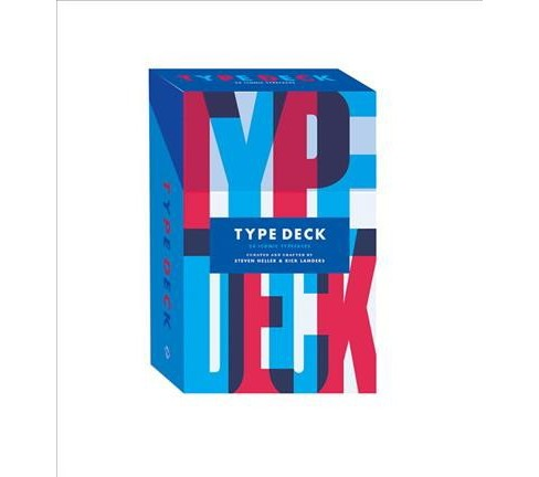 Type Deck : 54 Iconic Typefaces (Paperback) (Steven Heller & Rick Landers) - image 1 of 1