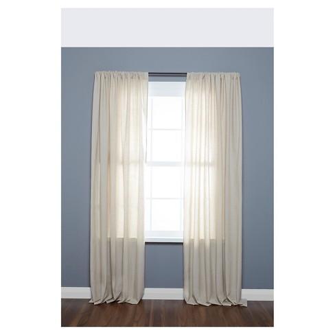 Loft By Umbra Dusk Room Darkening Curtain Rod 58 28 48