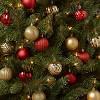 100ct Christmas Ornament Set Red & Gold - Wondershop™ - image 2 of 3