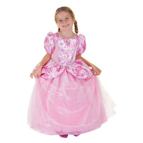 Great Pretenders Pretty In Pink Princess Gown Bundle with Tiara - Kid's Size 4-7 - image 1 of 2