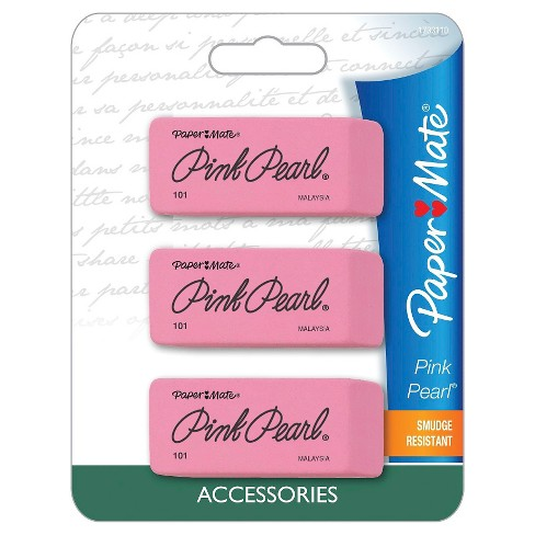 Paper Mate® Pink Pearl® Erasers, 3ct - image 1 of 2