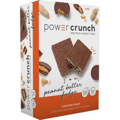 Power Crunch Protein Energy Bar Peanut Butter Fudge - 5ct