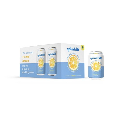 Spindrift Sparkling Water Lemon -8pk/12 fl oz Cans - image 1 of 3