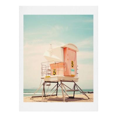 Bree Madden Beach Tower Art - Deny Designs
