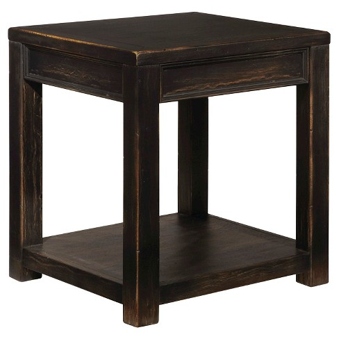 Gavelston Square End Table - Black - Signature Design by Ashley - image 1 of 3