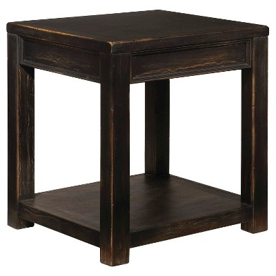 Gavelston Square End Table   Black   Signature Design By Ashley