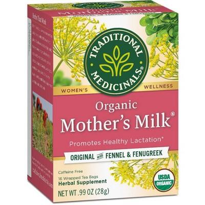 Tea Bags: Traditional Medicinals Mother's Milk Tea Bags