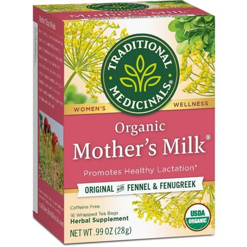 Traditional Medicinals Organic Mother's Milk Herbal Tea - 16ct - image 1 of 4
