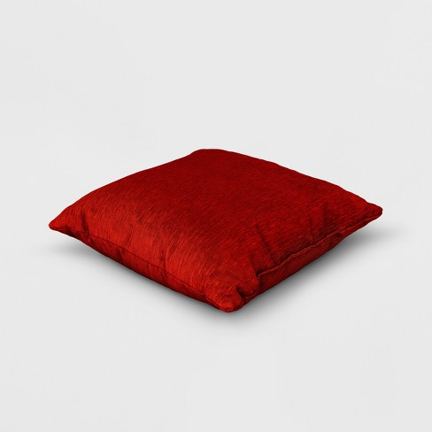 d27dc7c1c68 Solid Square Throw Pillow Red - Threshold™   Target