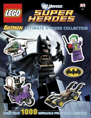 Ultimate Sticker Collection: LEGO Batman (LEGO DC Universe Super Heroes) by Emma Grange (Paperback)