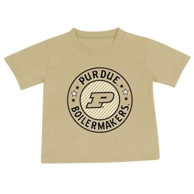 NCAA Purdue Boilermakers Toddler Boys' 2pk Short Sleeve T-Shirt