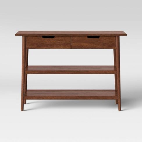 Ellwood Mid Century Modern Wood Console