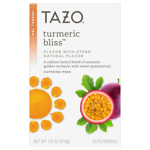 Tazo Turmeric Tea - 20ct/1.7oz - image 1 of 4