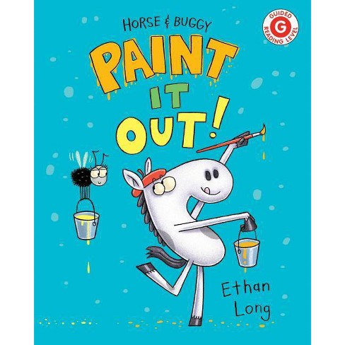 Horse & Buggy Paint It Out! - (I Like to Read) by  Ethan Long (Hardcover) - image 1 of 1
