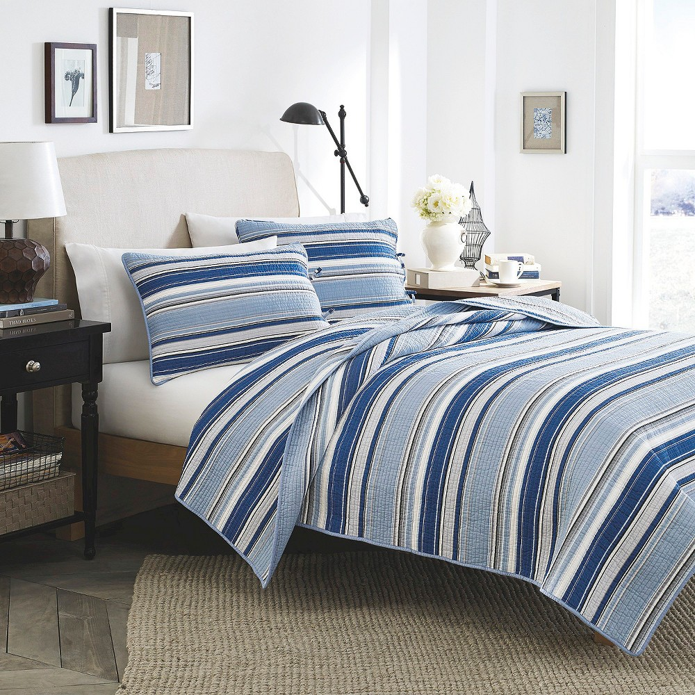 Stone Cottage Fresno Mini Quilt Set - Blue (Twin)