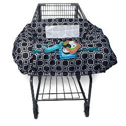 Boppy City Squares Grocery Cart Cover