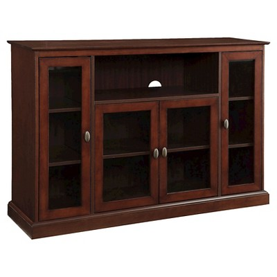"""Summit Highboy TV Stand for TVs up to 55"""" Espresso - Breighton Home"""