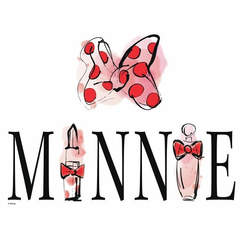 RoomMates Disney Minnie Mouse Perfume Peel and Stick Wall Decals - image 1 of 2