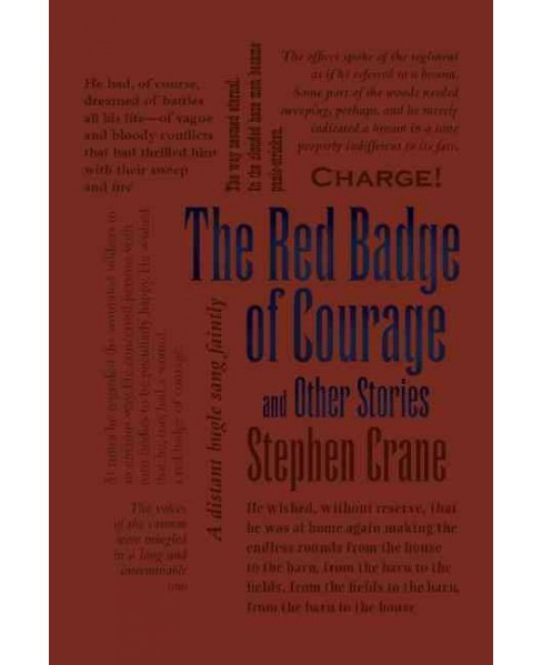 Image result for the red badge of courage word cloud classics book cover