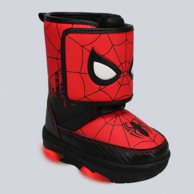 Toddler Boys' Marvel Spider-Man Winter Boots - Red