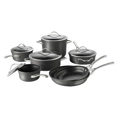 Calphalon Contemporary 12 Piece Non-stick Dishwasher Safe Cookware Set