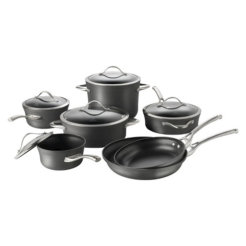 Calphalon Contemporary 12 Piece Non-stick Dishwasher Safe Cookware Set - image 1 of 6