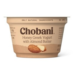 Chobani Honey Greek Yogurt with Almond Butter - 5.3oz