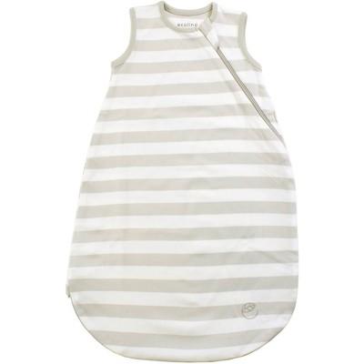 Ecolino Organic Cotton Sleep Sack - Silver 0-6 Months