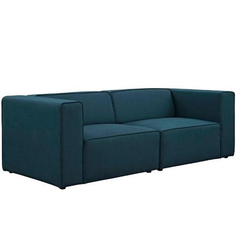 Mingle Upholstered Fabric Sectional Sofa Set - Modway : Target