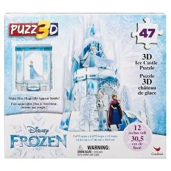 Cardinal Disney Frozen 3D Hologram Ice Castle Puzzle 47pc, Kids Unisex
