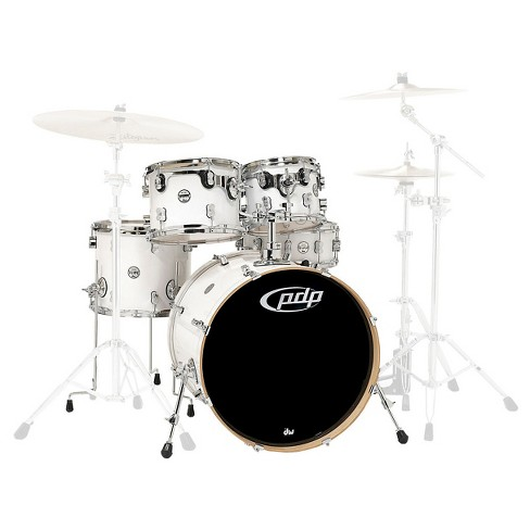 Pacific Drums CM5 Concept Maple Drum 5-Piece Shell Pack - Pearlescent White - image 1 of 1