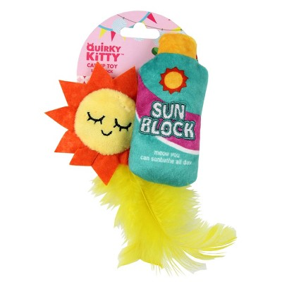 Quirky Kitty Sunshine State of Mind Cat Toy
