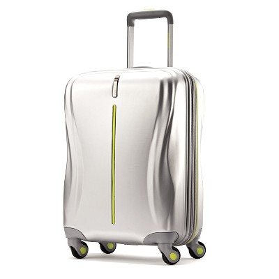 American Tourister Avatar 20  Hardside Carry On Suitcase - Silver