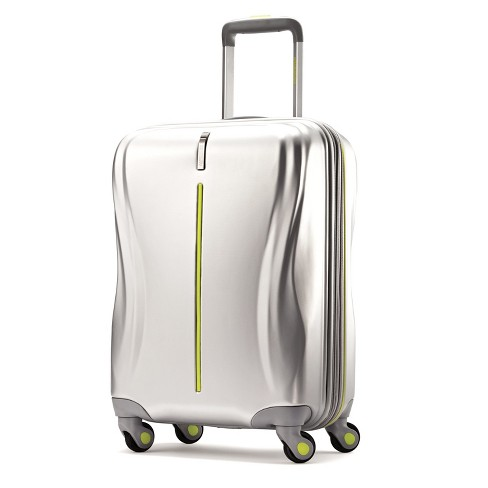 "American Tourister Avatar 20"" Hardside Carry On Suitcase - Silver - image 1 of 11"