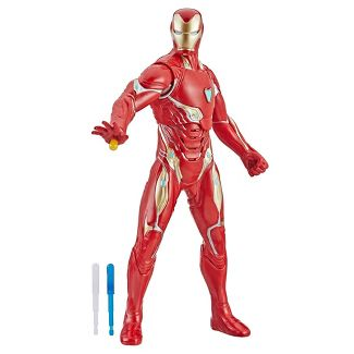 "Marvel Avengers: Endgame Repulsor Blast Iron Man 13"" Figure"