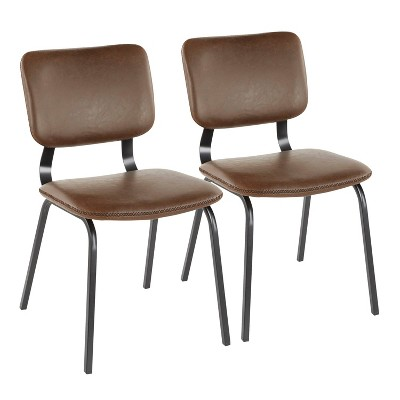 Set of 2 Foundry Contemporary Chair - LumiSource