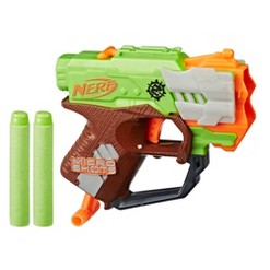 NERF MicroShots Zombie Strike Crossfire Bow Blaster