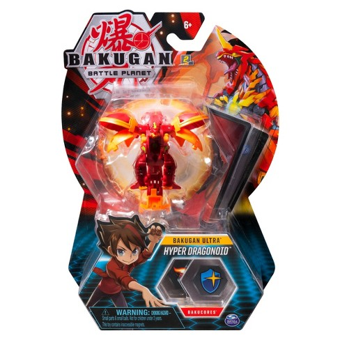 """Bakugan Ultra Hyper Dragonoid 3"""" Collectible Action Figure and Trading Card - image 1 of 4"""