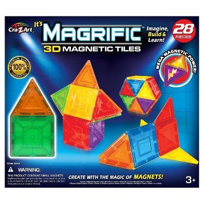 Magrific 28 piece Magnetic Tiles