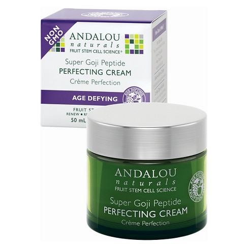 Andalou Naturals Super Goji Peptide Perfecting Cream - 1.7 Oz - image 1 of 1