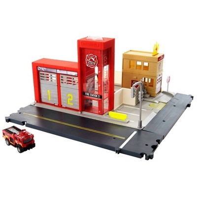 Matchbox Action Drivers Matchbox Fire Station Rescue Playset