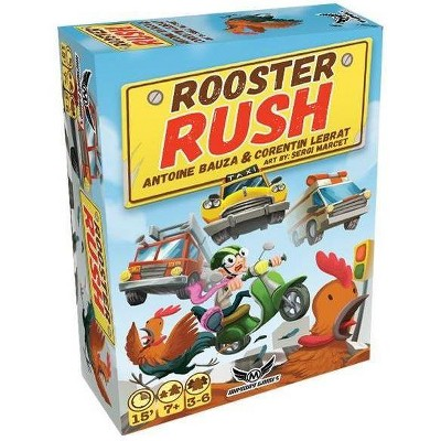 Rooster Rush Board Game
