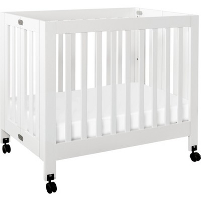 Babyletto Origami Mini Crib - White