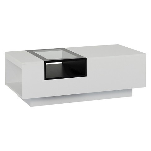 Camie Modern Two-tone Coffee Table White - HOMES: Inside + Out - image 1 of 5