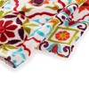 "2pk 16""X28"" Worn Tiles Kitchen Towels - Fiesta - image 2 of 4"