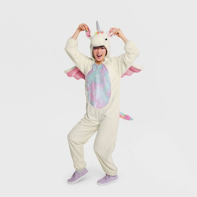Adult Unicorn Halloween Costume Jumpsuit - Hyde & EEK! Boutique™