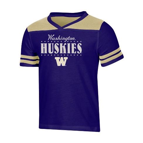 NCAA Girls' Heather Fashion T-Shirt Washington Huskies - image 1 of 1