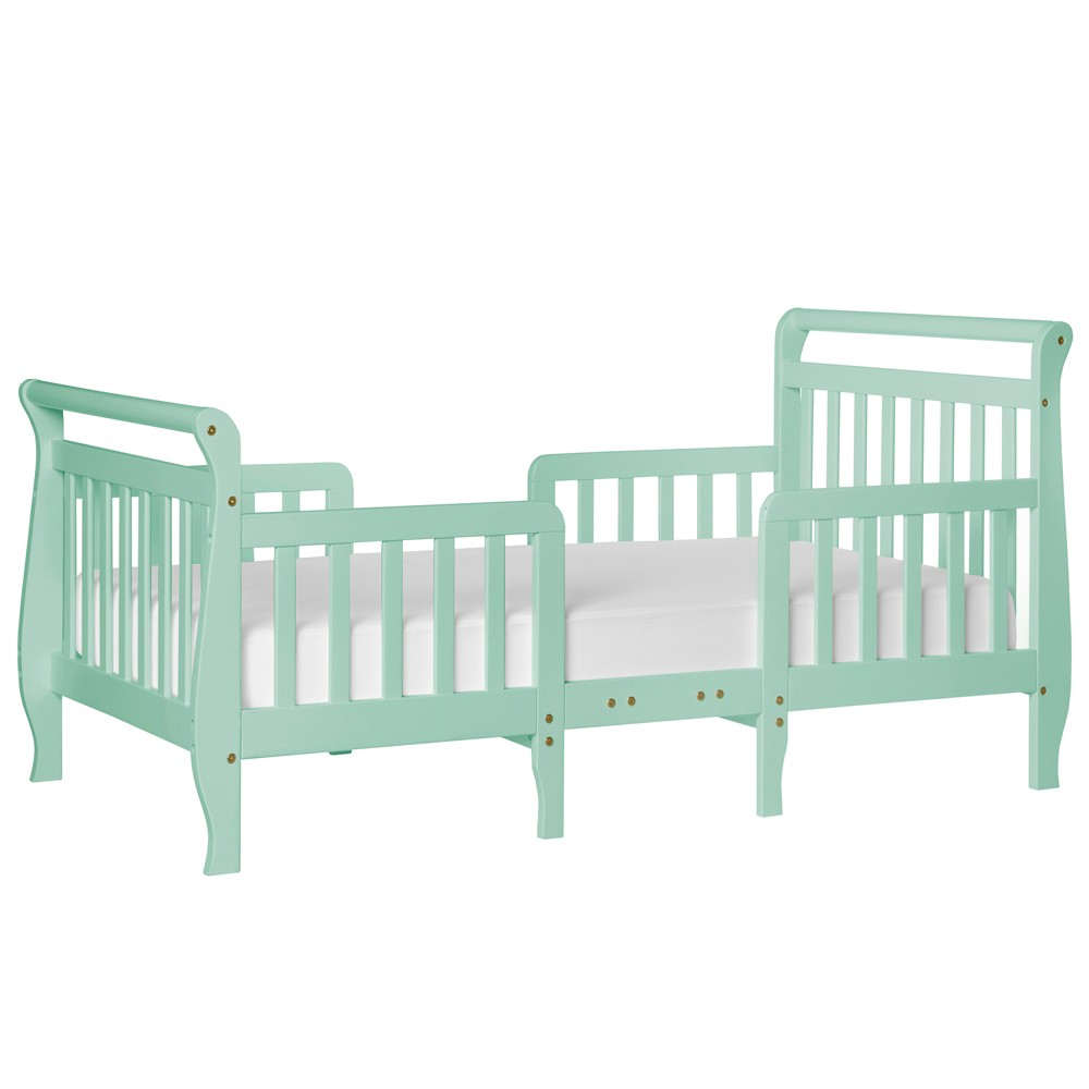 Image of Dream On Me Emma 3-in-1 Convertible Toddler Bed - Mint, Green