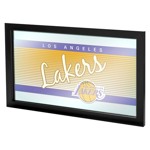 Los Angeles Lakers Team Logo Wall Mirror - image 1 of 1