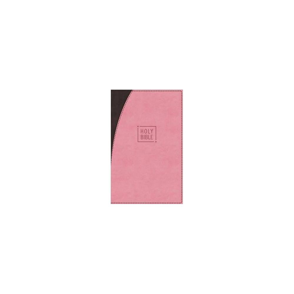 Holy Bible : New International Version, Pink/Chocolate LeatherSoft - (Paperback)